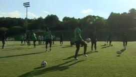 Нигерийцы провели тренировку в Ессентуках