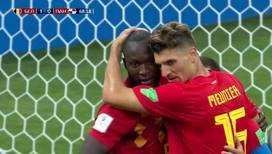 Бельгийцы забивают второй мяч