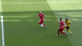 Азар забивает свой второй гол
