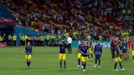 Сборная Германии в меньшинстве обыграла шведов