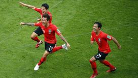 Футболисты Южной Кореи вывели из борьбы чемпионов мира