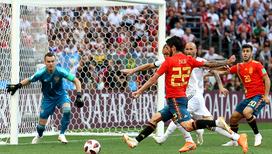 Сборная России обыграла команду Испании в серии пенальти
