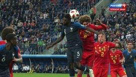 Самуэль Юмтити открывает счет в матче