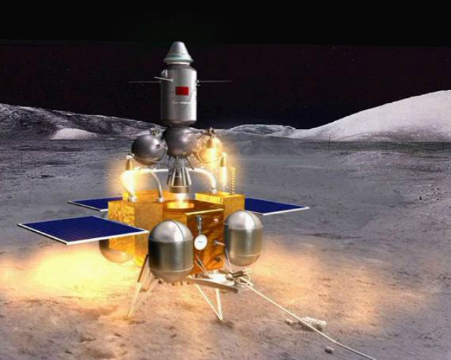 Целью китайской миссии 2017 года будет роботизированное исследование Луны, получение образцов лунных пород и доставка их на Землю