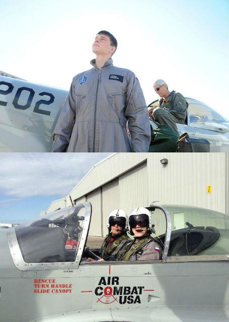 """Сергей: """"Мне больше всего понравился Air Combat. Мало того что ты летишь как второй пилот, так в какой-то момент пилот тебе ещё и передаёт управление. Ты летишь, это здорово, ты чувствуешь себя свободным""""."""