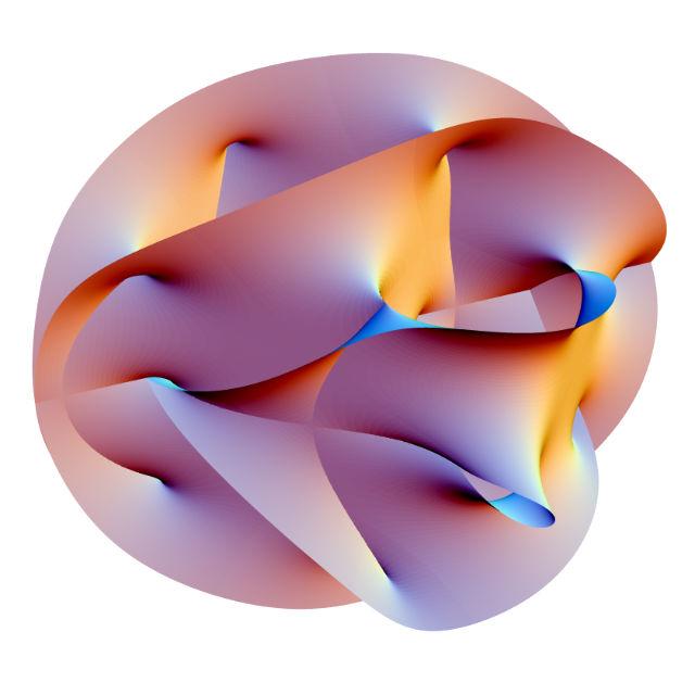 Теория струн является попыткой объединить ОТО и квантовую теорию математически