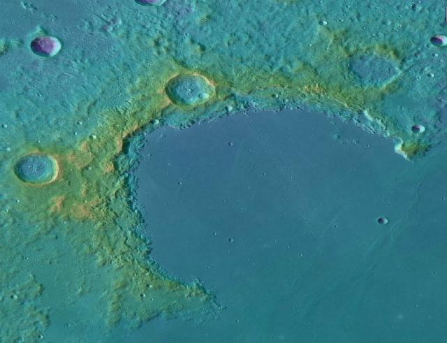 """Залив Радуги ≈ место запланированного прилунения аппарата """"Чанъэ-3"""""""