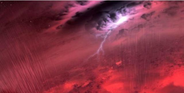 Прогноз погоды на далёком карлике оставляет желать лучшего. Неудавшаяся звезда окружена горячим покровом пятнистых облаков, состоящих из капелек жидкого железа и других полезных ископаемых