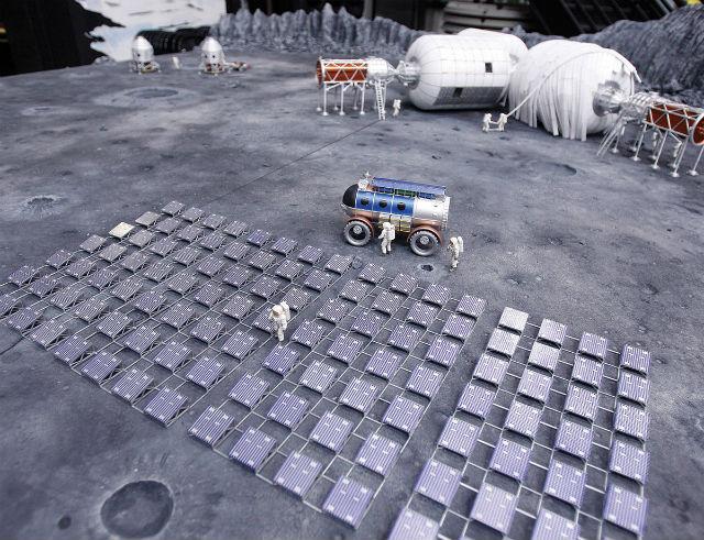 http://www.newscientist.com/data/images/ns/cms/dn24999/dn24999-1_1200.jpg Компьютерный макет лунной базы