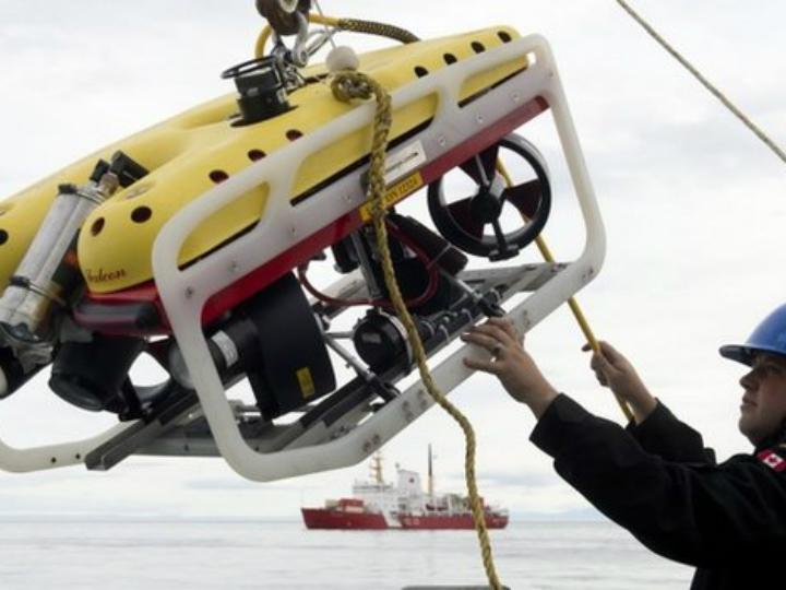 Для обнаружения корабля было использовано специальное подводное оборудование