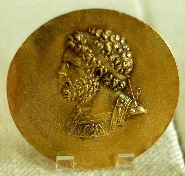 Медаль с изображением Филиппа II
