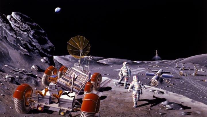 Обитатели лунной базы смогут превращать свои отходы в топливо