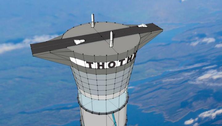 Также Thothx будет использоваться в качестве стартовой и посадочной площадки для космических аппаратов и кораблей