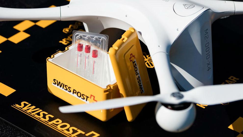 Доставка медицинских товаров является идеальным примером использования дронов.
