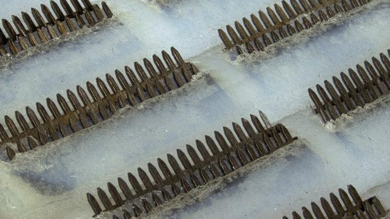 Крошечные шипы из углеродного волокна имитируют пластины, которые располагаются на присосках рыб прилипал.