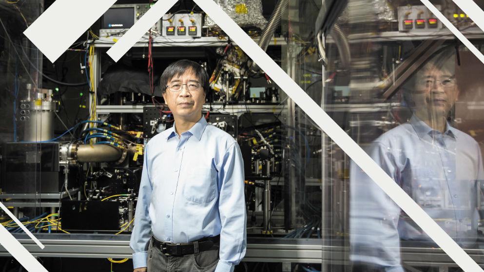 Пятое место досталось физику из Китайского университета наук и технологий Цзянь-Вэй Пану.