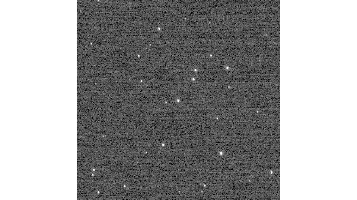 """Звёздный кластер """"Колодец желаний"""". Этот снимок впервые за 27 лет побил рекорд """"Вояджера"""", но сам пробыл рекордсменом совсем недолго."""
