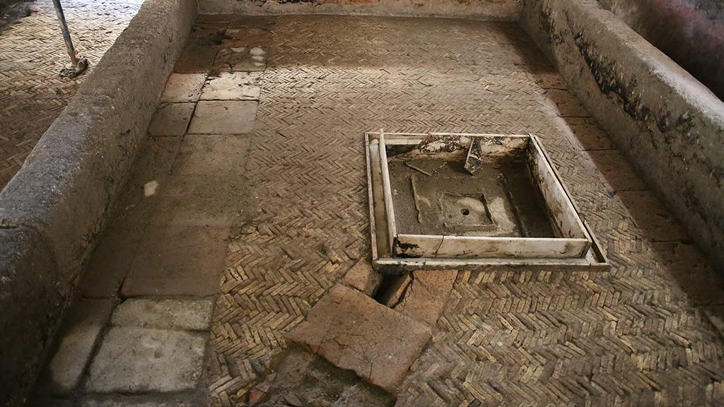 Внутренний двор (перистиль) римской виллы II века. Фото: Soprintendenza Speciale di Roma
