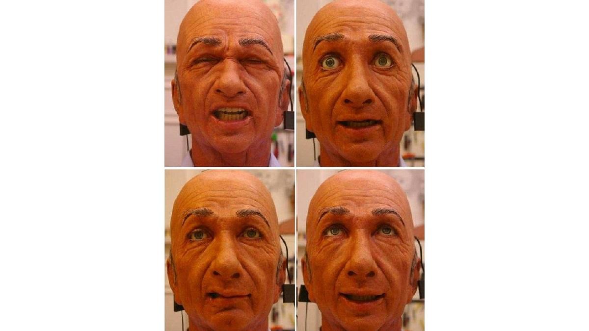 Чарльзу требуется 2-3 секунды, чтобы скопировать человеческую эмоцию и выражение лица.
