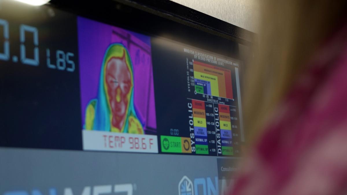 Новейшее медицинское оборудование позволяет врачу получить те же данные, которые используются для осмотра в больнице.