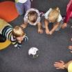 Студент из Африки стал воспитателем детского сада