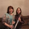 Юная флейтистка из Новосибирска