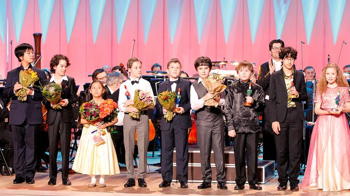 Щелкунчик. XVI Международный телевизионный конкурс юных музыкантов. Финал и торжественное закрытие