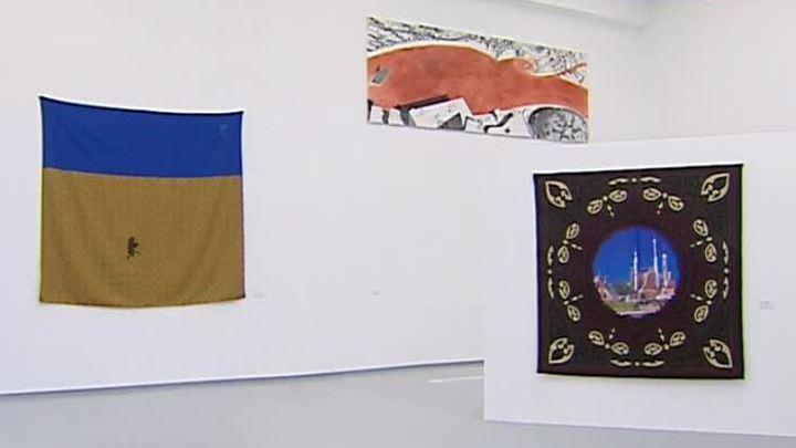 Пьер Броше представляет часть своей коллекции в Мультимедиа Арт Музее