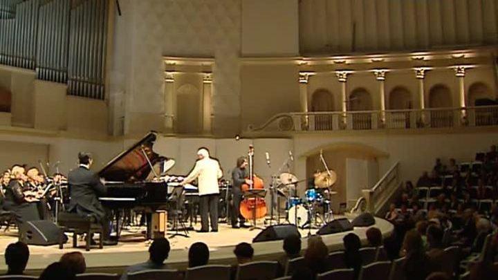 В Концертном зале Чайковского отметили старый Новый год