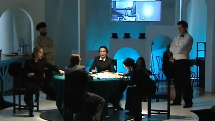 """Новый спектакль """"Игроки"""" поставили в """"Школе драматического искусства"""""""
