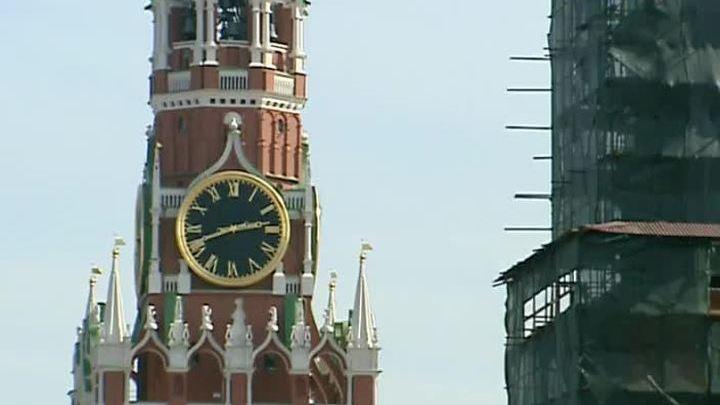Продолжается реставрация Московского Кремля