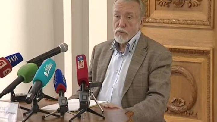 Владимир Гусев рассказал о планах по реконструкции Михайловского дворца