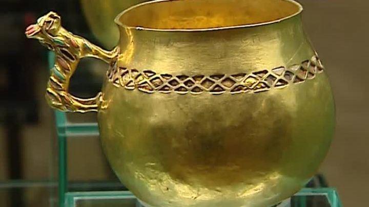 Золото эллинов представлено в Государственном историческом музее