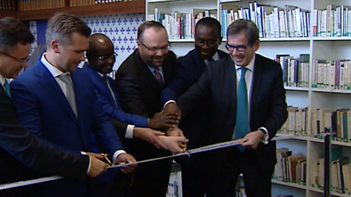 В Библиотеке иностранной литературы открылся культурный центр франкоязычных стран