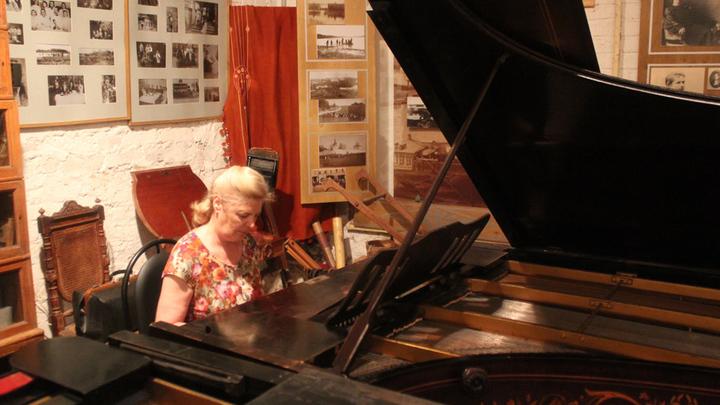 Музей Цветаевой. Два рояля