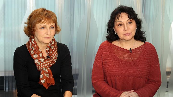 Тереза Дурова и Марина Райкина