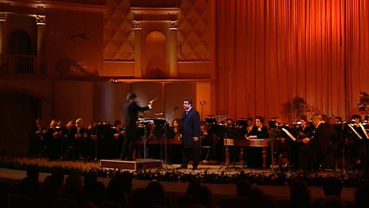 Борис Акимов и Оркестр ВГТРК представили литературно-музыкальную композицию
