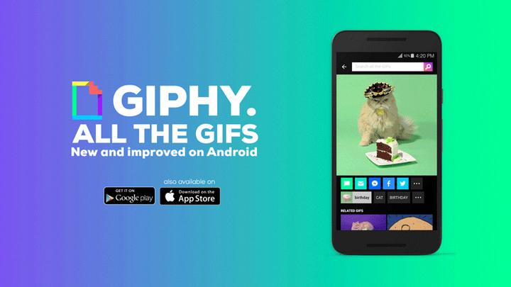 """Android-приложение GIPHY быстро найдет смешную """"гифку"""""""