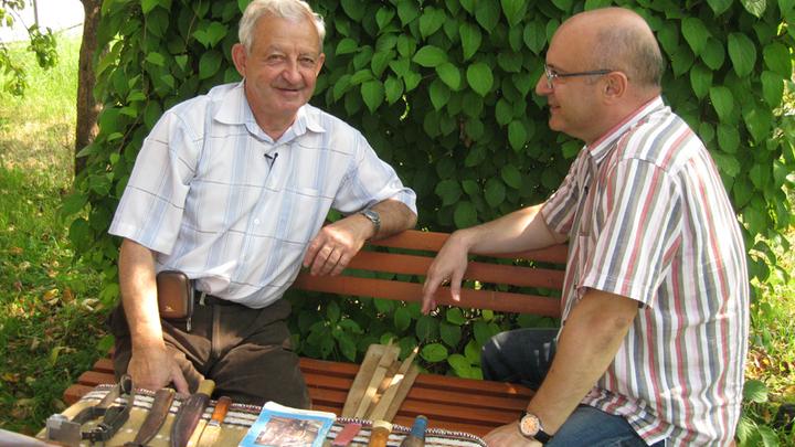 Владимир Тихомиров и Николай Мамулашвили