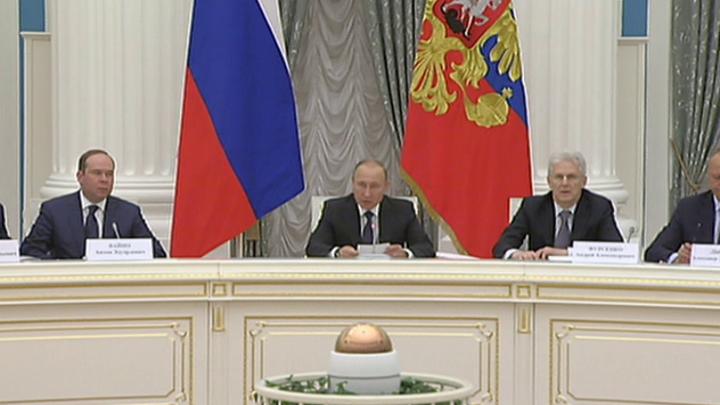 Владимир Путин провел заседание Совета при Президенте по науке и образованию