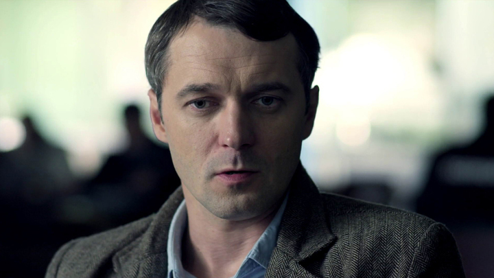 """Павел Трубинер. Кадр из сериала """"Охота"""""""