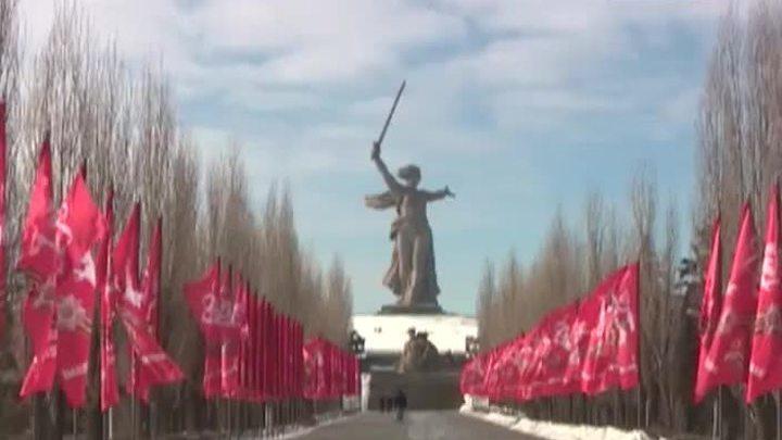 """Реставраторы изучают состояние монумента """"Родина-мать"""" в Волгограде"""