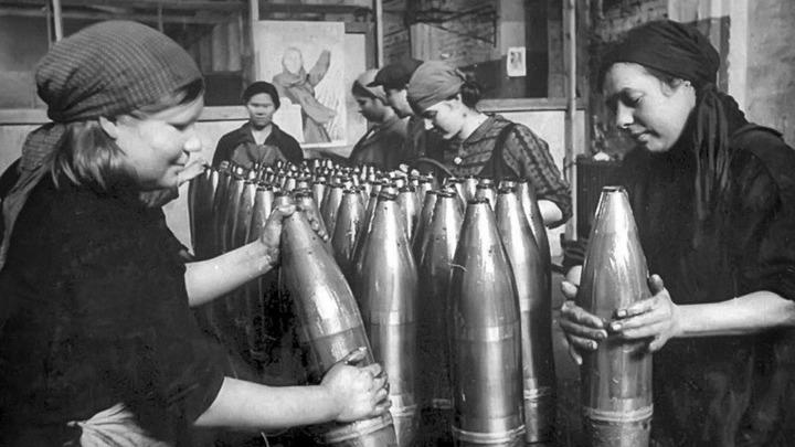 Женщины - героини трудового фронта