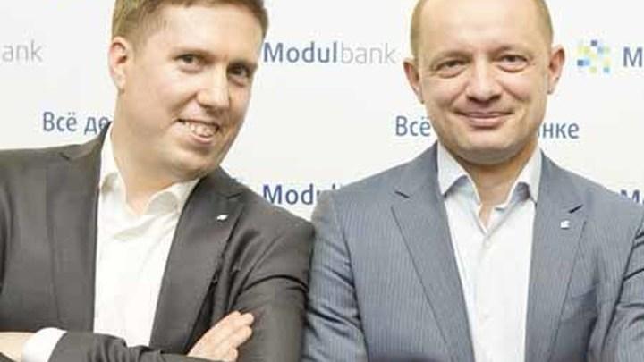 """Основатели проекта """"Модульбанк"""" Яков Новиков и Олег Лагута."""