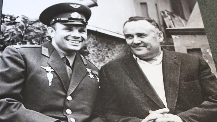 Гагарин и Королев, апрель 1961 года