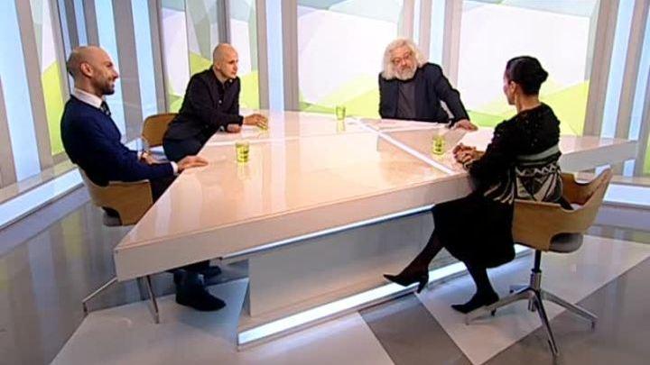 Алла Сигалова, Егор Дружинин и Евгений Папунаишвили в программе