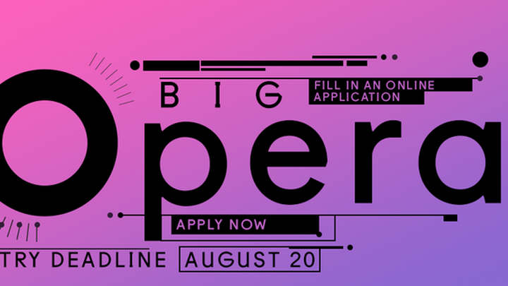 To become a participant of the Big Opera 2017