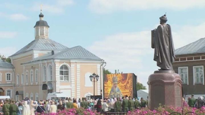В Смоленске открыли памятник Владимиру Мономаху
