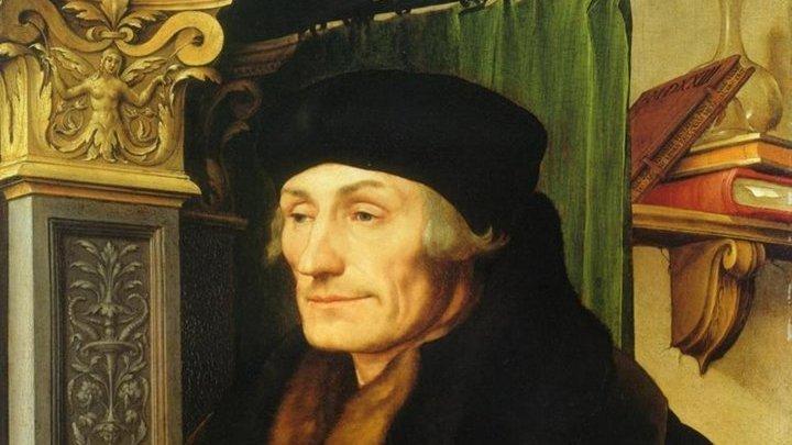 Портрет Эразма Роттердамского Ганс Гольбейн (Младший) 1523 год