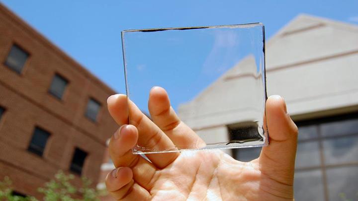 Прозрачные солнечные панели позволят отказаться от углеводородного топлива